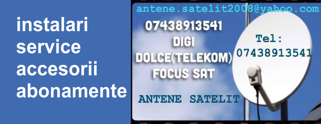 slider antene satelit